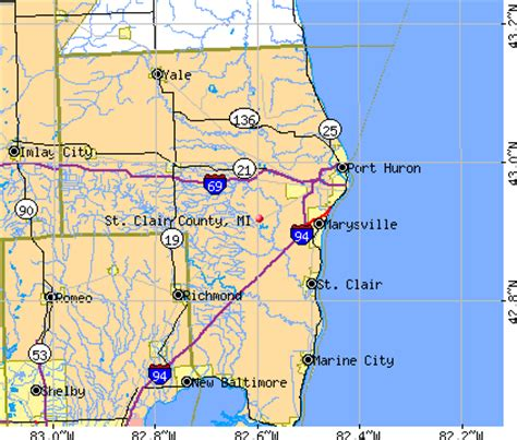 St Clair County Michigan Records St Clair County Michigan Detailed Profile Houses Real Estate Cost Of Living