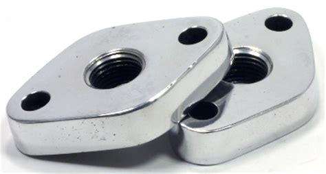 Wedges Kets Doff block plates 114020 polished aluminum 396 502