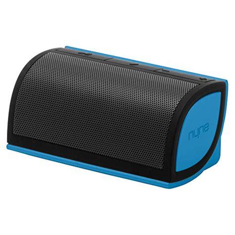 Speaker Mini M Tech nyne multimedia inc mini portable bluetooth speaker black blue tech gifts