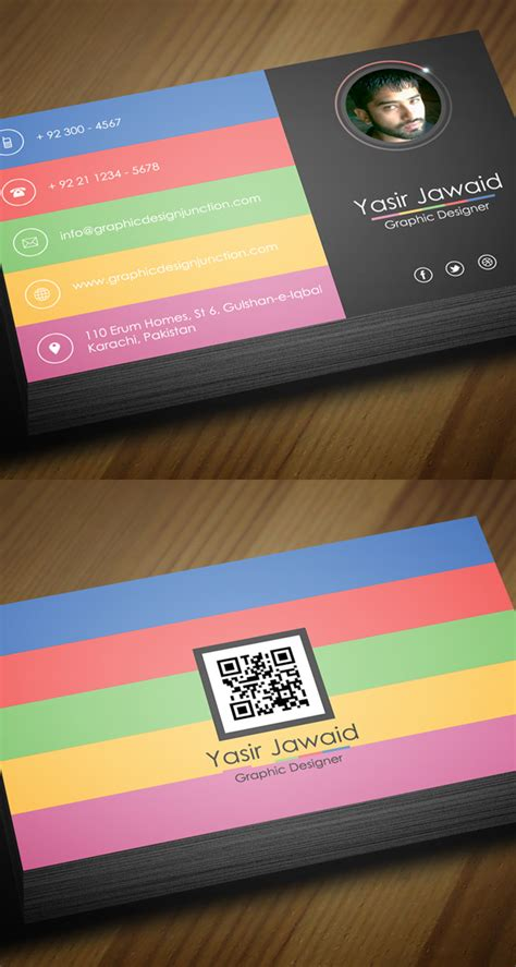 modern business card templates free free business cards psd templates print ready design