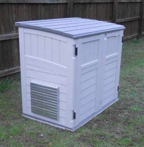 Shed For Portable Generator by Powershelter Kit Ii For Storing And Running Portable