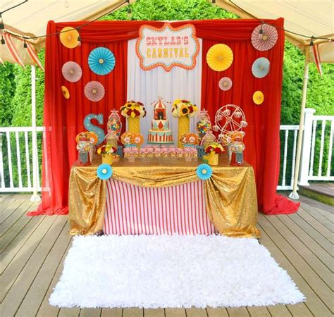 decorations for carnival theme carnival birthday see more ideas at