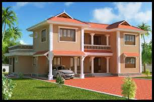 Exterior Indian Home Design Pictures by Kerala Building Construction 4 Bhk Villa