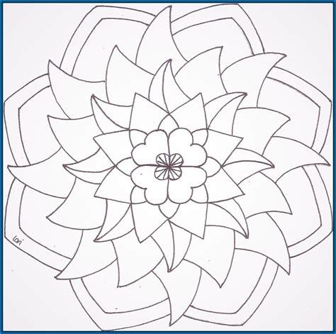 imagenes para pintar faciles imagenes de mandalas para colorear y imprimir archivos