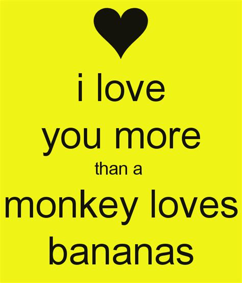Enjoy More Than by I You More Than A Monkey Bananas Poster Britt