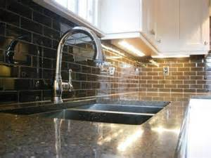 Glass Tile For Backsplash In Kitchen Kitchen Tile Backsplash Design Ideas Glass Tile The