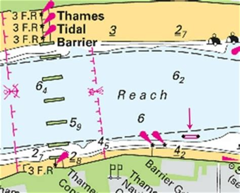 thames barrier depth 2014 notices to mariners