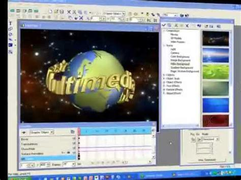membuat intro video dengan ulead tutorial completo ulead cool 3d doovi