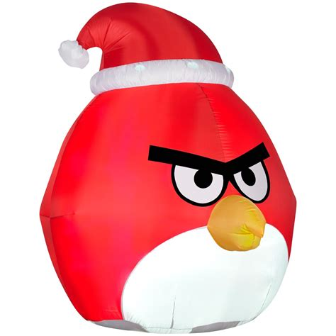 angry birds outdoor christmas decorations
