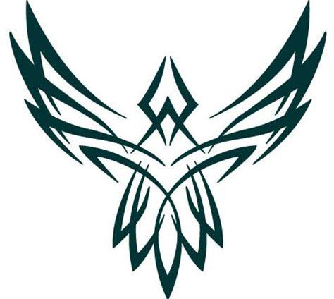 tribal falcon tattoo falcon tribal