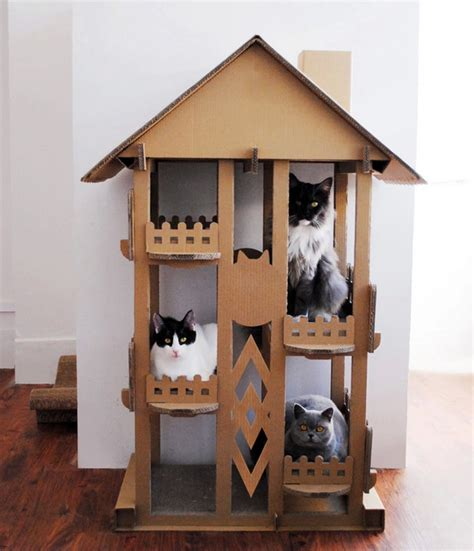cat house designs indoor wholesale indoor play cat mat cardboard cat house new design tree house for cats