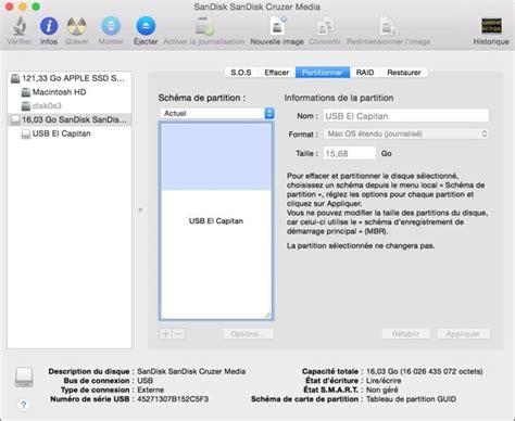 installer format factory sur mac comment cr 233 er une cl 233 usb bootable sur mac pour installer