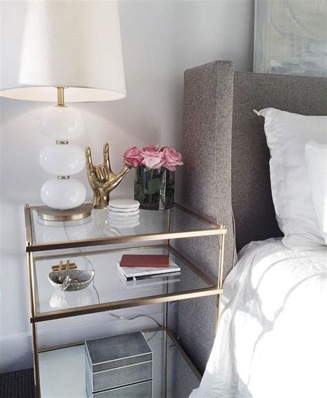 side table ideas for bedroom best 25 gold nightstand ideas on pinterest standing