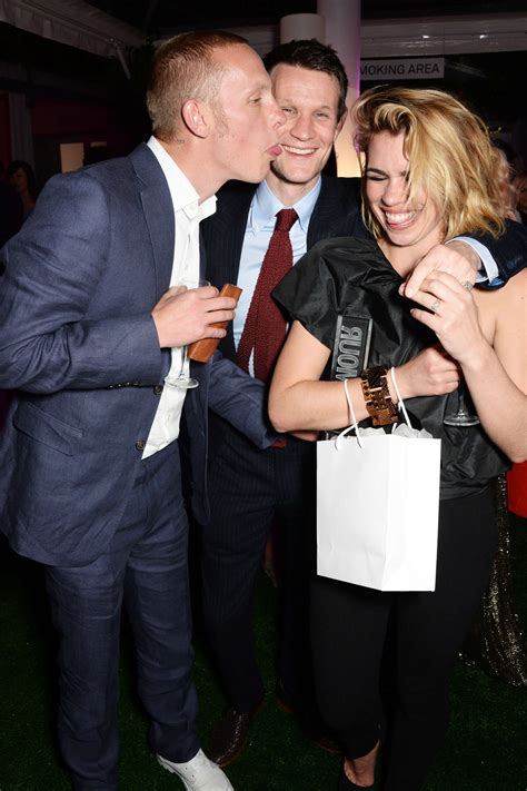 Matthew And Piper Back On by Billie Piper 2014 Of The Year Awards 10