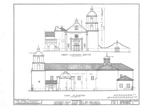 Mission San Jose Floor Plan by San Luis Rey De Francia California Missions Resource Center