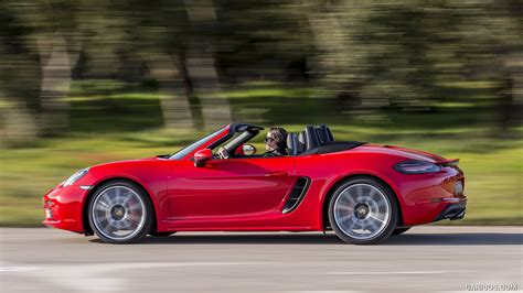 red porsche boxster 2017 2017 porsche 718 boxster s red hd wallpaper 42