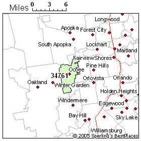 best place to live in ocoee zip 34761 florida