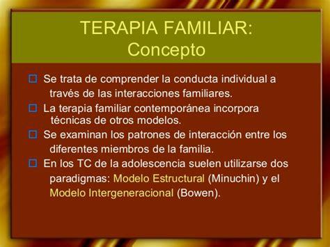 la perspectiva sistmica en terapia familiar conceptos terapia familiar luz
