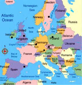 Map Of Europe Today by Ezonaf Map Of Europe Today