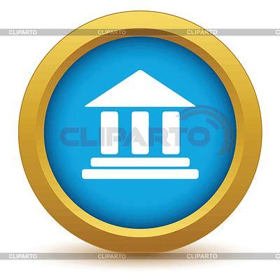 banco oro icono banco oro ilustraci 243 n vectorial de stock cliparto