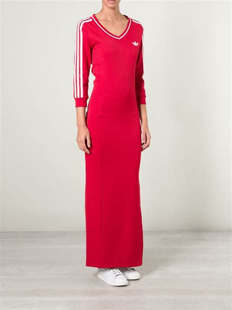 Adidas Maxi Dress adidas line jersey dress in lyst