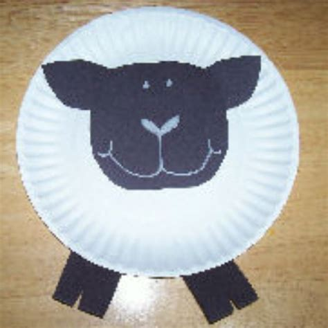 Paper Plate Sheep Craft - 17 best images about farm crafts on sheep