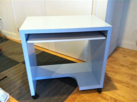 Small Rolling Desk Small Ikea Rolling Desk Blue Color In Boerum Hill Krrb Classifieds