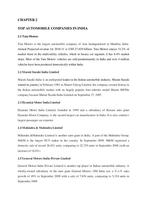 research paper on automobile industry indian automobile industry research paper mfawriting515
