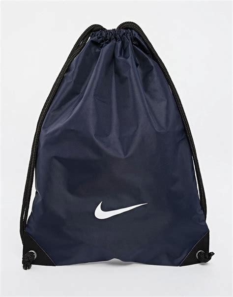 nike nike drawstring backpack ba2735 439 at asos