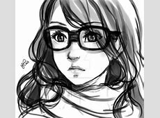 Girl with glasses Sketch by Lukia-Lokelani on DeviantArt M.facebook.com Login Php Facebook