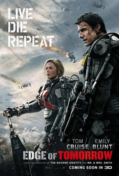 groundhog day tom cruise edge of tomorrow gets its posters confusions and connections
