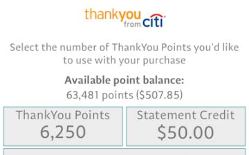 Thank You Points Gift Cards - should you redeem citi thankyou points for gift cards one mile at a time