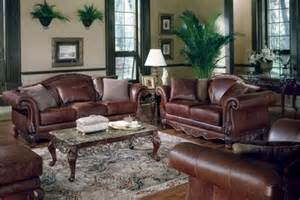 Living Room Brown Leather Sofa How To Decorate A Living Room With Brown Leather Furniture Home
