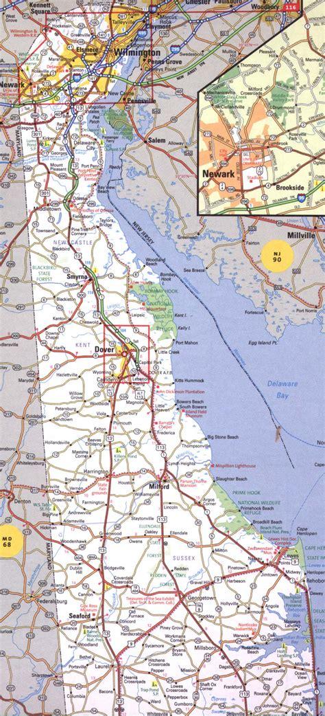 Search In Delaware Delaware Road Maps Aaroads