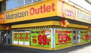 matratzen outlet matratzen factory outlet startet werbekagne