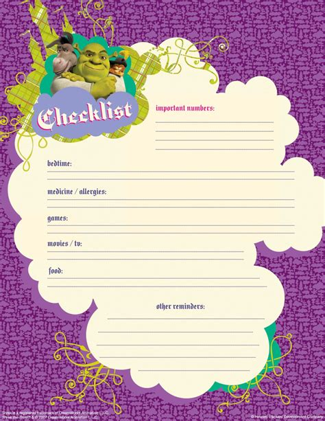 7 best images of printable babysitter flyer printable