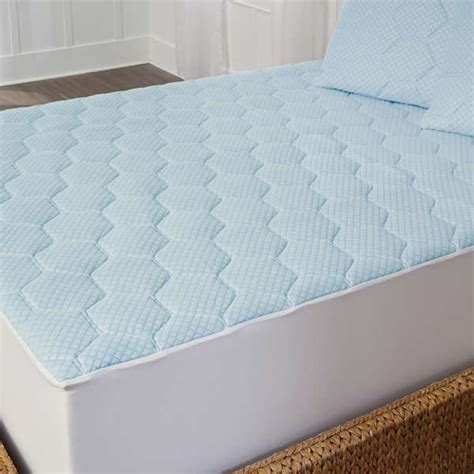 King Bed Mattress Cover New Cal King Bed Cooling Gel Mattress Pad Topper Soft Size Cover Ebay