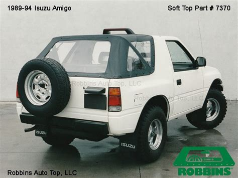 isuzu amigo soft top 1989 94 isuzu amigo soft top