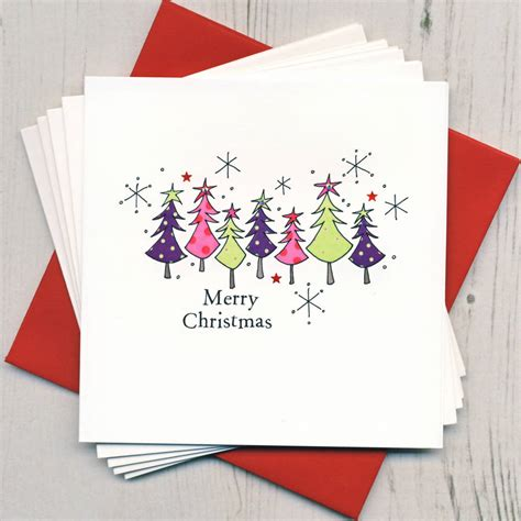 pack of five christmas cards by eggbert daisy