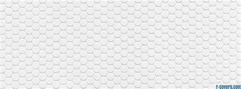 White Cover by White Circles Pattern Cover Timeline Photo Banner