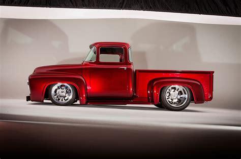 Wheels Custom 56 Ford Truck Hijau 1956 ford f100 streetrod rod hotrod usa 5616x3730 01 wallpaper 5616x3730