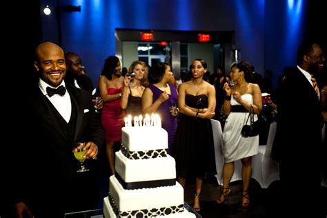 Themed Black Tie Events | quot black tie swag quot themed birthday celebration the