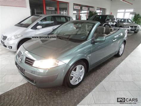 2004 Renault Megane 1 6 Coupe Cabriolet Privilege Car