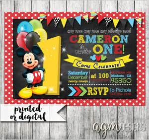 mickey mouse clubhouse invitations template mickey mouse invitation template 23 free psd vector