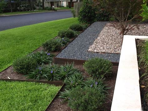 metal landscape edging landscaping ideas