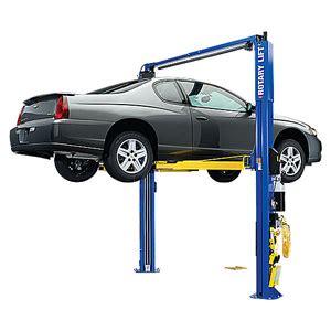 rotary floor jacks rotary lift 2 post car lift spoa10 asymmetrical