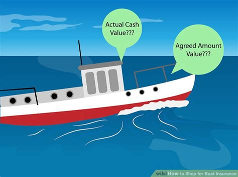 boat insurance replacement value how to shop for boat insurance 5 steps with pictures