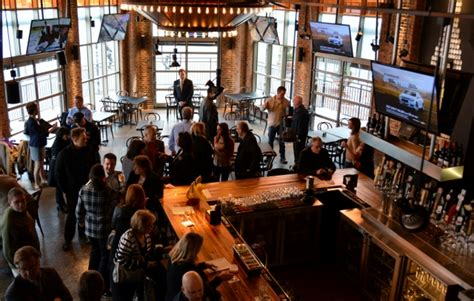 rochester tap room ribbons are cut doors open shop the new businesses