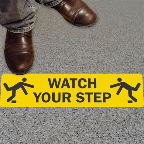 signs your is in your step signs and labels best prices from mysafetysign