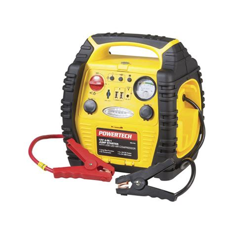 jump starter  air compressor  led work light